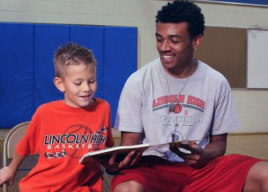 Life Beyond Hoops Boys Together Reading Book
