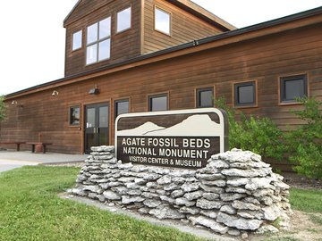 Agate Fossil Beds National Monument Vistor Center and Museum