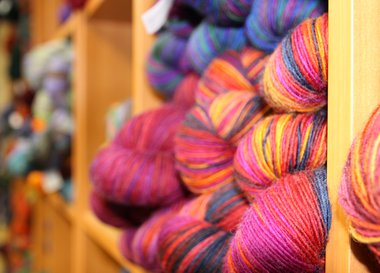Yarn of many colors