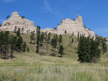 Sandstone Buttes at Sowbelly Canyon