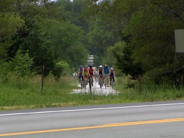 Bikers on Path  2
