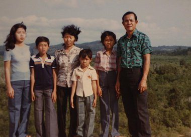 Family photo Vietnam safe harbor
